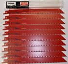 Bahco by Snap On 3840 228 14 ST 10P 9 14TPI Metal Cutting Recip Blades 10pc