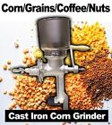 New MTN Corn Grinder Large Wheat Nuts Coffee Grain Mill Cast Iron Manual Hand