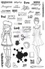 Prima Julie Nutting Planner Craft Day Clear Stamps