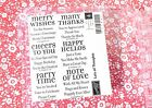 Lots of Thoughts Stampin Up Set of 6 Expressions NEW