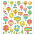 Scrapbooking Crafts Stickers Hot Air Balloons Rainbows Birds Animals Trees Sun
