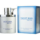 Yacht Man Metal by Myrurgia Men 3.4 oz / 100 ml EDT Cologne Spray | NEW IN BOX