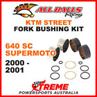 38-6053 KTM 640 SC Supermoto 2000-2001 Fork Bushing Kit