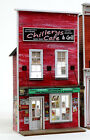 O SCALE On3 On30 On2 BANTA MODEL WORKS 6150 Chillerys Cafe FRONT ONLY
