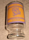 VINTAGE VERY OLD LSU FIGHTIN TIGERS GO TIGERS LARGER GLASS SMALLER BOTTOM