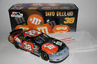 DAVID GILLILAND AUTOGRAPHED #38 M&M'S HALLOWEEN 2006 1/24 ACTION DIECAST CAR