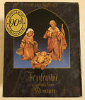 Fontanini Depose Italy 5 The Holy Family Nativity Figures 71503 In Box w Card