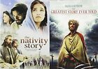 The Story of Jesus 2 Movie Bundle The Nativity Story  The Greatest Story Ever