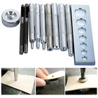 Leather Craft Tool Die Punch Snap Rivet Button Setter Base Fastener Installation