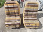 Vintage Dodge Bucket Seats Mopar Super Stock 1970s Van Truck RV Camper