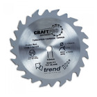 Trend Cordless Trim Circular Saw Blades 136mm - 190mm