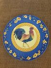 Fitz And Floyd Classic Choices Coq Du Village Rooster Portrait Collector Plate
