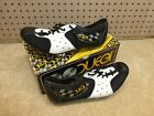 Vintage 1980s NOS Duegi Model 115 Leather Mesh Cycling Shoes Size 39