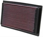 K&N Air Filter Element Rectangular Cotton Gauze Red Audi Volkswagen 33-2029