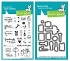 Lawn Fawn Just For You Clear Stamp LF1130 or Custom Die LF1131