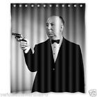 Alfred Hitchcock Polyester Shower Curtains 60x72 Inch