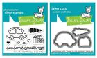 Lawn Fawn Home For the Holidays Clear Stamp LF1220 or Custom Die LF1221