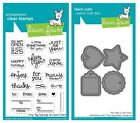 Lawn Fawn Tiny Tag Sayings Clear Stamp LF1222 or Custom Die LF1223