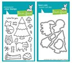 Lawn Fawn Critters in the Forest Clear Stamp LF314 or Craft Die LF486