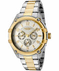 I By Invicta Mens 43659 002 Silver Dial Two Tone Stainless Steel Watch