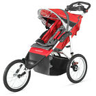 16 Inch Tire Schwinn Red Black Comfortable Slip Resistant Single Stroller Safety