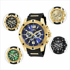 Invicta I-Force Gent's Steel & Polyurethane Strap Watch