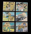 LOT SET 1941 Antique Vintage Gum Cards Uncle Sam Military Home Defense (B15)