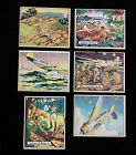 LOT SET 1941 Antique Vintage Gum Cards Uncle Sam Military Home Defense (B11)