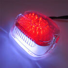 Clear LED Tail Brake Turn Light for 99-07 Harley Sportster Softail Dyna Lay Down