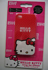 Hello Kitty Wrap iPhone 4 4S Hard Plastic Slip On Phone Case Red
