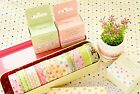 ONOR Tech Set of 4 Roll Lovely Cute Japanese Washi Masking Tape Decorative Tape