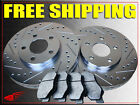 GEO PRIZM 93 94 95 96 97 BRAKE ROTORS + PADS F