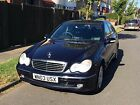 LARGER PHOTOS: Mercedes C240 Avantgarde Manual 2003 Metalic Blue Petrol V6