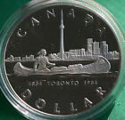 1984 Canadian 1 Toronto Sesquicentennial Canada Proof One Dollar Coin ONLY