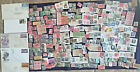 Huge Vintage Postal Stamp Lot 4 Mostly US some foreign early 1900s 1980s
