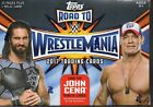 5 BOX LOT2017 Topps WWE Road to Wrestlemania Factory Sealed Blaster -W RELIC