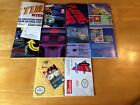 10 NES poster Lot Capcom Brøderbund Playing Power Mindscape Rob Solstice 4 Score