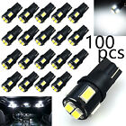 JDM ASTAR 100 pcs 194 168 2825 White Samsung LED Map Dome Interior Lights Bulbs