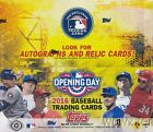 2016 Topps Opening Day Baseball HUGE 36 Pack Factory Sealed HOBBY Box-252 Cards!