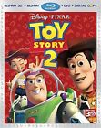 Toy Story 2 Four Disc Combo Blu ray 3D Blu ray DVD