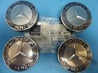 4 Wheel Hub Cap W Mercedes Benz Emblem OEM  1714000125 Alloy Wheel Royal Blue