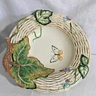 Fitz & Floyd Easter Old World Rabbits Bowl Retired NIOB 73/301