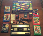 HUGE Mattel INTELLIVISION console LOT: 23 Games + EXTRAS. ALL WORKING! BOX
