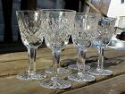 6 Minty Waterford Crystal 3¼