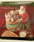 Fitz & Floyd OLD FASHIONED CHRISTMAS COOKIE JAR SANTA GIFTS STUNNING CONDITION
