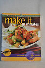 Make it in Minutes Cookbook by Weight Watchers