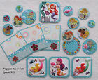 Premade Scrapbook Pages Mat Set Sewn WATER FUN Mermaid Fish 18 Pieces pack890