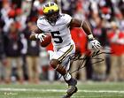 Jabrill Peppers Michigan Wolverines Autographed 8 x 10 Running Photograph