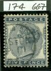 SG 169 5d indigo. A superb example VFU. A pristine Preston CDS with RPS cert