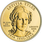 2009 W First Spouse Gold UNC Letitia Tyler